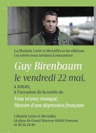 INVIT Lettres et merveilles-Guy Birenbaum